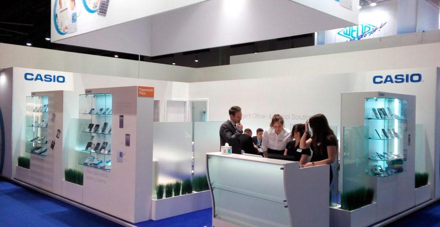 CASIO на Международной выставке PAPERWORLD 2017