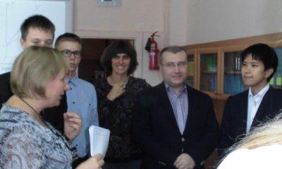 Образовательный проект: делегация CASIO