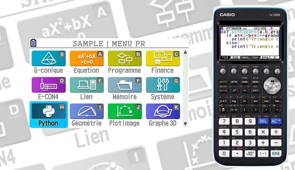 Новое приложение превращает калькулятор Casio fx-CG50 в мобильное устройство для программирования.