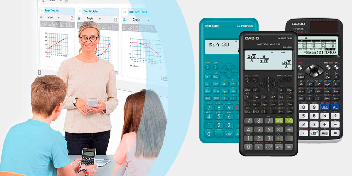 Калькуляторы CASIO